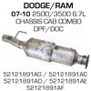 52121891AC Dodge Ram 2500 or 3500 DPF (RED 41609)