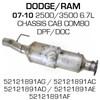 52121891AF Dodge Ram 2500 or 3500 DPF (RED 41609)