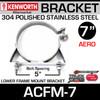"7"" Lower Frame Mounting Bracket for Kenworth Aerocab ACFM-7"