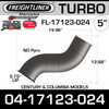 04-17123-024 Freightliner 12.7L Turbo Elbow Pipe FL-17123-024