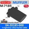 "04-20185-000 Freightliner Columbia Muffler 8"" x 20"" M-7185"