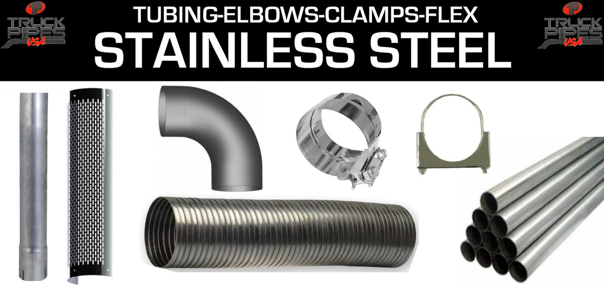 What is the Difference in types of Stainless Steel Exhaust
