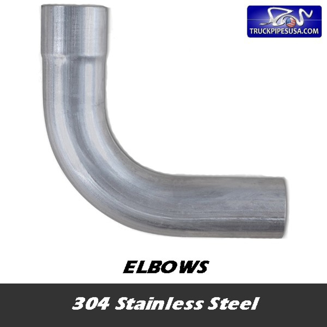 304 Stainless Exhaust Elbows