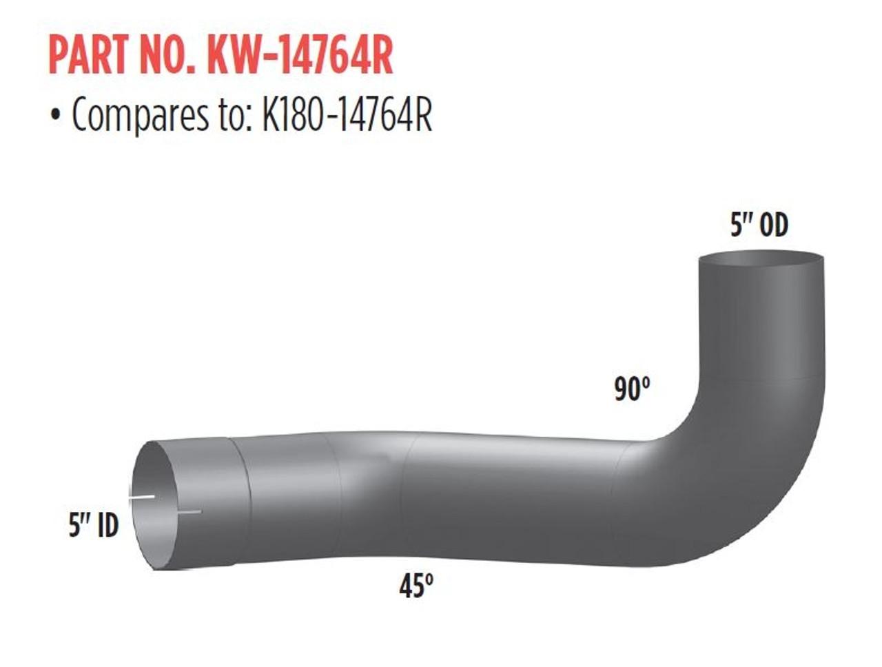 KENWORTH Aluminized Elbows