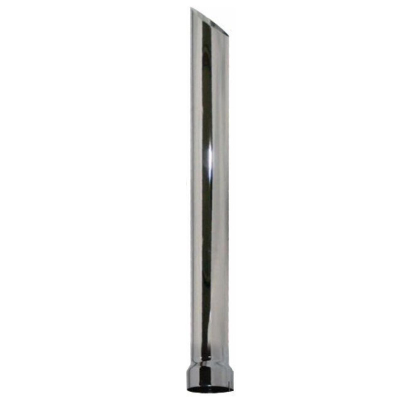 P4-36SBC 4 inch x 36 inch Miter or Angle Cut OD Chrome