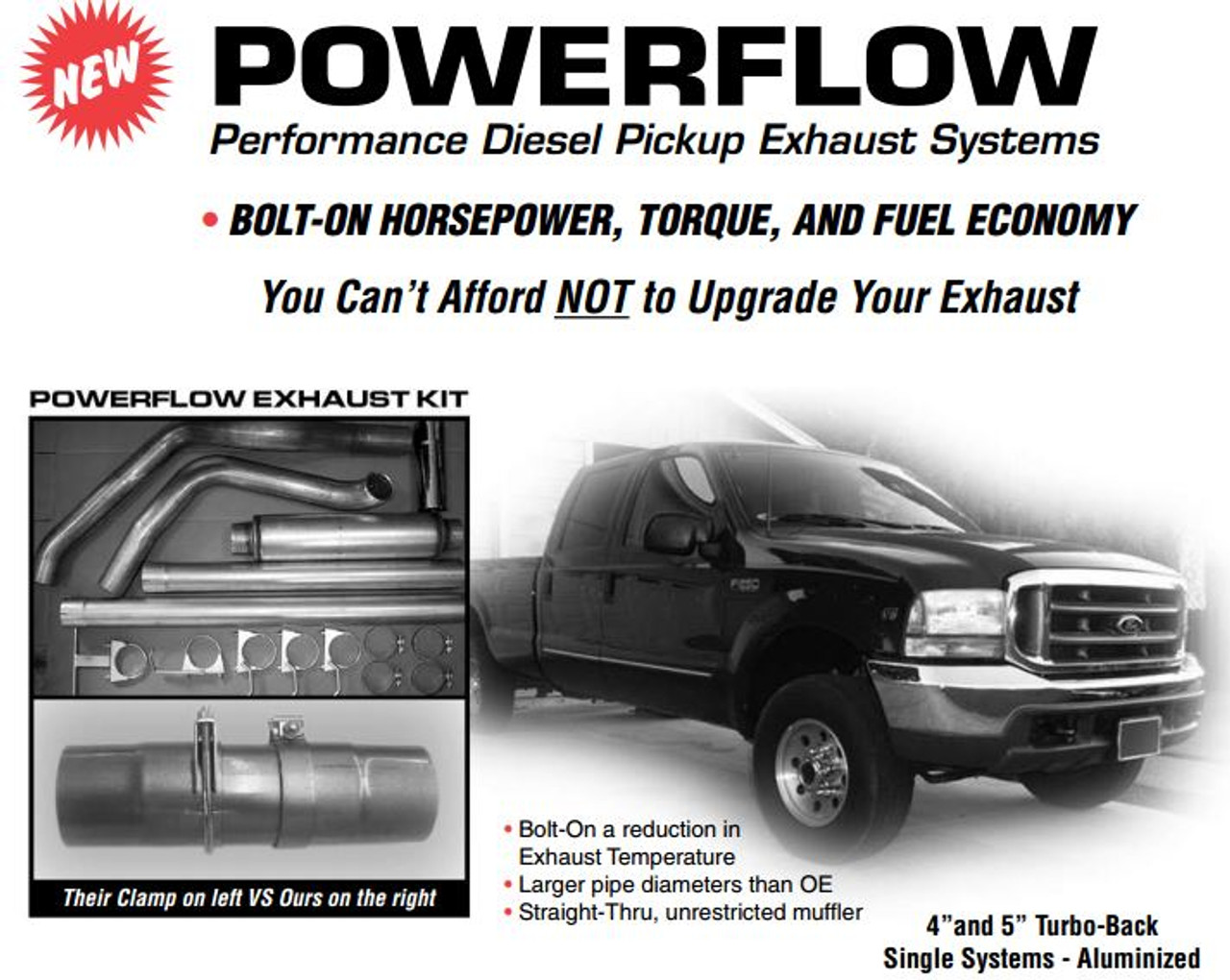 "2003-2005 Ford 6.0 Powerstroke 4"" Stack Kit"
