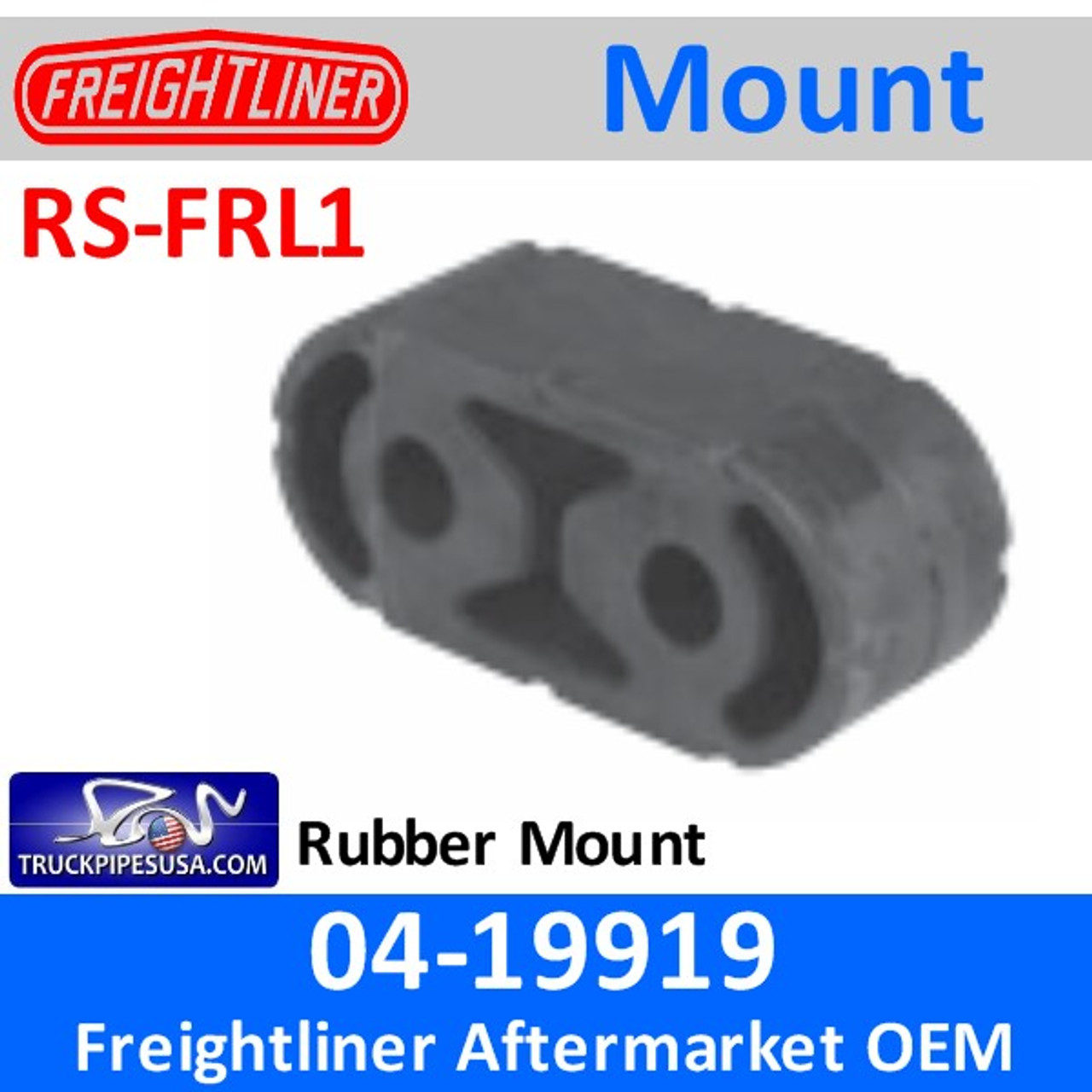 04-19919 Rubber Strap for 2004 & Newer Freightliner RS-FRL1