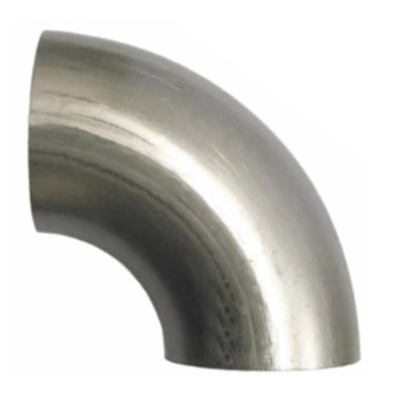 Exhaust Stainless Steel Pipe Bend Elbow 302 Stainless Steel Various Diameter
