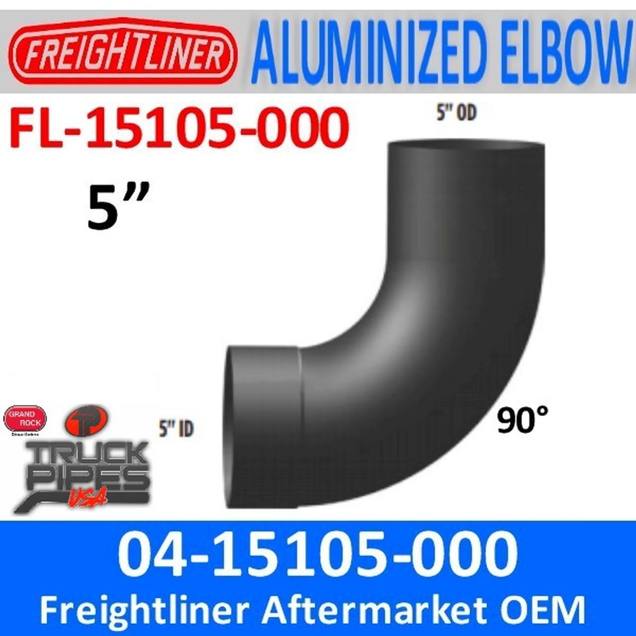 04-15105-000 Freightliner FLD 90 Deg Exhaust Elbow FL-15105-000