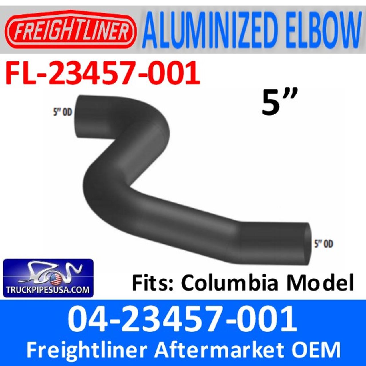 04-23457-001 Freightliner Columbia Exhaust Elbow FL-23457-001