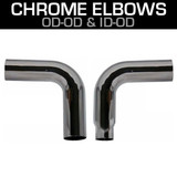 Chrome Exhaust Elbows