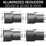 Aluminized Exhaust Reducers