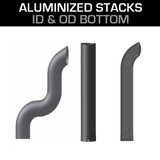 "4"" Aluminized Stacks"