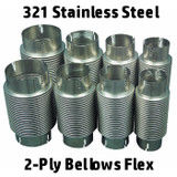 What is a Bellows 2-Ply Stainless Steel Flex Exhaust?