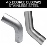 45 Degree Stainless Steel Elbows