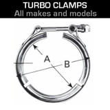 Turbo Exhaust Clamps