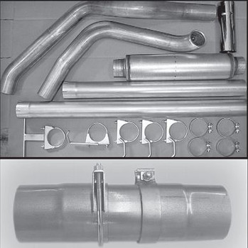 "GM-0004-A4 GM-0004-A4 2000-2007 GM 6.6L Duramax 4"" Powerflow Stack Kit"