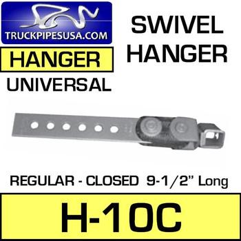 """H-10C H-10 Regular Closed Swivel Hanger 9-1/2"""" Long"""