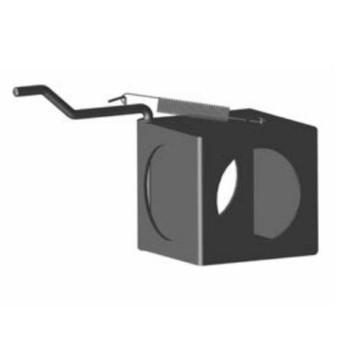 "Exhaust Diverter 2 Position Exhaust Heat Box 5"""