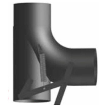 "HDT-4A 2 Position 4"" Heat Exhaust Diverter Tube"
