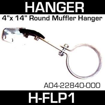 """4"""" Pipe Hanger A04-22840-000 Freightliner Tail Pipe Hanger H-FLP1"""