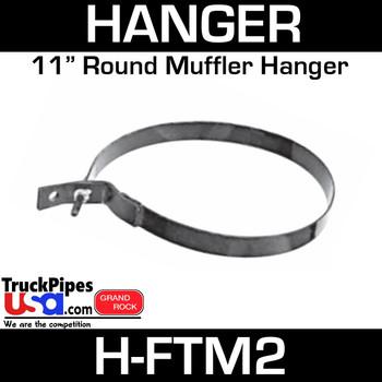 """11"""" Heavy Duty Ford Muffler Hanger H-FTM2"""