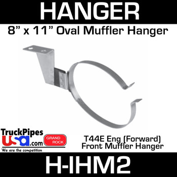 "8"" x 11"" Oval Front Muffler Hanger International 2013206C91"
