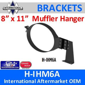 8 x 11 Oval HD Muffler Hanger International H-IHM6A