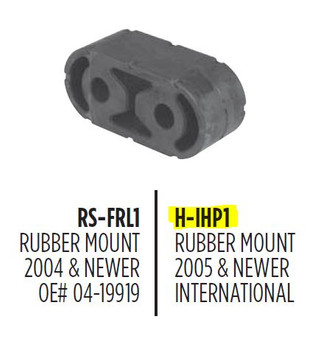 H-IHP1 H-IHP1 Rubber Strap for Chevrolet GMC or International