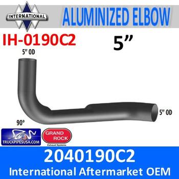 2040190C2 International Elbow with Flat Area IH-0190C2