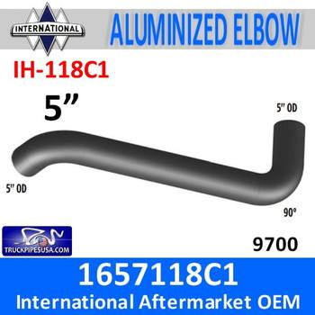 IH-118C1 1657118C1 International Exhaust Elbow IH-118C1