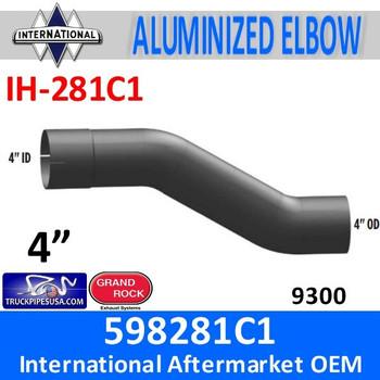 598281C1 International 9300 Exhaust Elbow Pipe IH-281C1