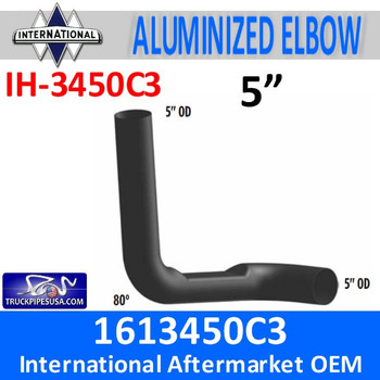 IH-3450C3 1613450C3 International 8200 Day cab Exhaust Elbow IH-3450C3