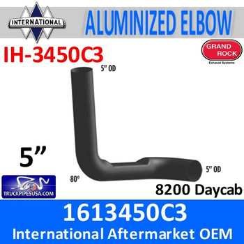 1613450C3 International 8200 Day cab Exhaust Elbow IH-3450C3