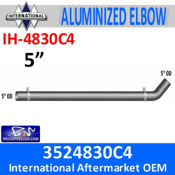 IH-4830C4 3524830C4 International Exhaust Long Pipe IH-4830C4
