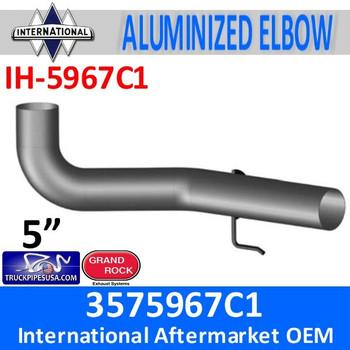3575967C1 International Exhaust Elbow with Hook IH-5967C1