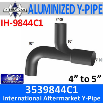 IH-9844C1 3539844C1 International Truck Exhaust Y-Pipe IH-9844C1