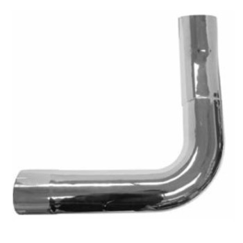 K180-10742RCP Kenworth Chrome Right Elbow for W900A
