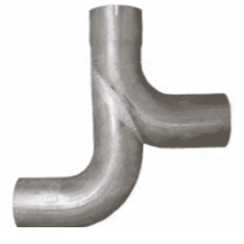 K180-12975 Kenworth Exhaust Y-Pipe for W900A Model