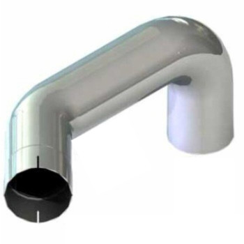 M66-1317RCP Kenworth Chrome Exhaust Right Elbow