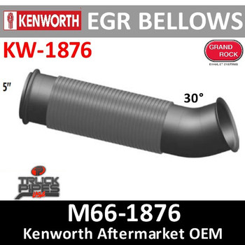 M66-1876 Kenworth Turbo Exhaust Bellows Elbow