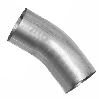 "3.5"" 30 Degree Exhaust Elbow 4"" x 4"" OD-OD Aluminized L3530-0404SA"