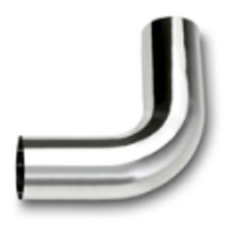 """L490-1010SC 4"""" Chrome Exhaust Elbow 90 Degree 10"""" x 10"""" OD-OD"""