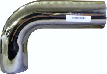 "L590-1832SC 5"" 90 Degree Exhaust Elbow 18"" x 32"" OD-OD Chrome L590-1832SC"