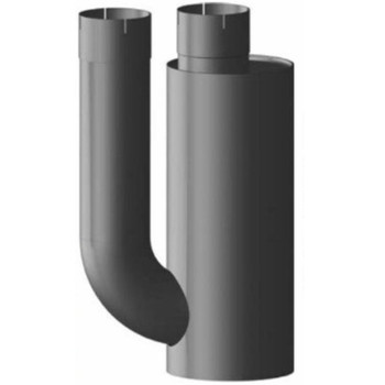 "Type 3A Muffler 9"" x 22"" 6"" INLET 6"" OUTLET"