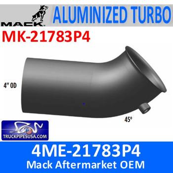 4ME-21783P4 Mack Turbo Exhaust pipe MK-21783P4