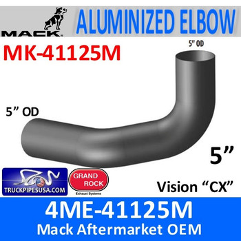 4ME-41125M Mack Vision CX Exhaust Elbow MK-41125M