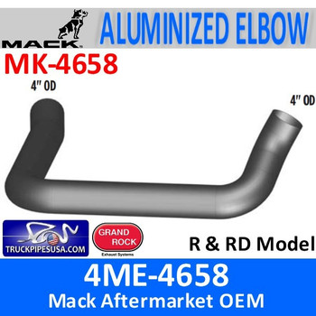 4ME-4658 Mack R & RD Model Exhaust Elbow MK-4658