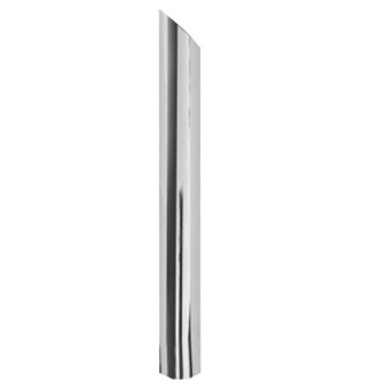 "P6-48SBC 6"" x 48"" Miter or Angle Cut OD Chrome Exhaust Tip"