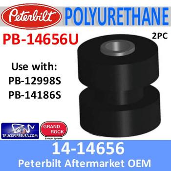 Peterbilt Exhaust Cab Bracket Grommet 14-14656 or PB-14656U